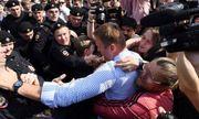 Nga: Bắt giữ thủ lĩnh phe đối lập và hơn 200 người do biểu tình trái phép