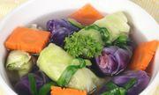 Thanh nhiệt ngày hè với món bắp cải cuốn cá thác lác hấp