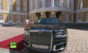 Xe bọc thép mới chở Tổng thống Putin đến lễ nhậm chức có gì đặc biệt?