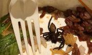 Thực khách phát hiện nhện trong đồ ăn và cách xử lý bất ngờ của nhà hàng Singapore