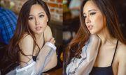 Mai Phương Thúy khoe vẻ đẹp gợi cảm sau 12 năm đăng quang Hoa hậu
