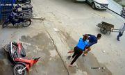 Clip: Thanh niên trộm xe bỏ chạy trối chết khi bị thiếu nữ truy đuổi