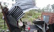 Mưa đá kéo dài 10 phút ở Đồng Nai, nhiều nhà cửa bị hư hỏng