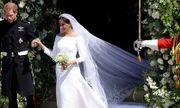 Cận cảnh chiếc váy cưới lộng lẫy của Công nương Anh Meghan