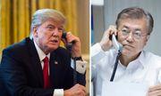 Tổng thống Trump điện đàm với Tổng thống Moon về hội nghị Mỹ-Triều