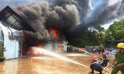 """Hơn 400 người chiến đấu với """"biển lửa"""" ở Bình Định"""