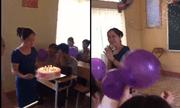 Học sinh hát nhạc chế 'Cô tuyệt vời nhất' tặng cô giáo trong ngày chia tay khiến dân mạng nghẹn lòng