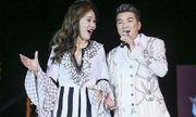 Mr Đàm vừa hát vừa khiêu vũ cùng Hoa hậu Nhân ái Đỗ Lan