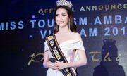 Phan Thị Mơ đại diện Việt Nam tham dự Hoa hậu đại sứ du lịch thế giới 2018