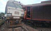 2 đoàn tàu tông nhau ở Quảng Nam, nhiều toa bay khỏi đường ray