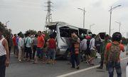 Xe tải va chạm xe khách trên cao tốc Hà Nội - Bắc Giang, 8 người thương vong