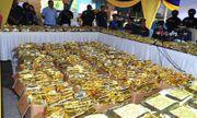 Malaysia bắt giữ lượng ma túy đá lớn nhất lịch sử