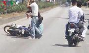 Nhóm thanh niên lạng lách, đánh võng trên QL 1A bị phạt gần 40 triệu đồng