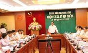 Thông cáo báo chí kỳ họp 26 của Ủy ban Kiểm tra Trung ương
