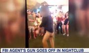 Video nhân viên FBI nhảy sung đến nỗi súng cướp cò trong quán bar