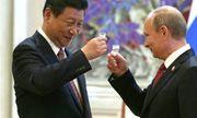 Tổng thống Nga uống rượu mừng sinh nhật với Chủ tịch Trung Quốc