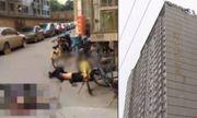 Nam thanh niên nhảy lầu tự tử rơi trúng người đi đường, cả 3 tử vong tại chỗ