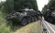 4 thiết giáp Stryker của Mỹ đâm va liên tiếp, nhiều binh lính bị thương