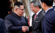 Những hình ảnh đầu tiên của ông Kim Jong-un tại Singapore
