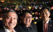 Ông Kim Jong-un bất ngờ có bức ảnh selfie đầu tiên trước thềm hội nghị thượng đỉnh Mỹ-Triều