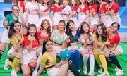 Vẻ đẹp nóng bỏng của nữ cổ động viên Việt Nam mùa World Cup 2018