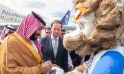 Thái tử Ả Rập Saudi bất ngờ xuất hiện tại Nga, xóa tan tin đồn mất tích