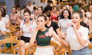 Thí sinh Hoa hậu Việt Nam xem World Cup thôi mà, có cần xinh đẹp đến vậy không?