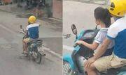 Video: Thót tim cảnh bé gái điều khiển xe máy phóng vút trên đường