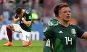 World Cup 2018: Chicharito khóc nức nở trên sân sau khi thắng Đức