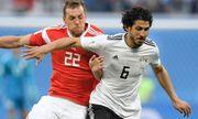 Salah thi đấu, Ai Cập vẫn nhận thất bại trước tuyển Nga