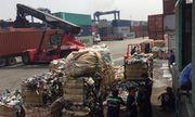 Hàng ngàn container phế liệu dồn ứ tại cảng TP.HCM