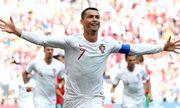 Ronaldo tỏa sáng giúp Bồ Đào Nha đánh bại Morocco