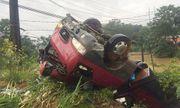 Lật xe tải chở công nhân lao động tại Lào, 7 người Nghệ An thương vong