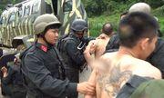 Hình ảnh từ hiện trường vụ đấu súng nghẹt thở với trùm ma túy ở Lóng Luông