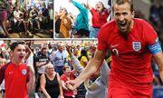 Video: Phản ứng cuồng nhiệt của CĐV khi Anh lần đầu thắng sút luân lưu ở World Cup