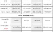 Bảng giá xe ôtô mới nhất tháng 7/2018:  Xe nhập về ồ ạt, giá vẫn chưa giảm