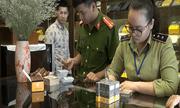 Hà Nội: Kiểm tra, thu giữ hàng nghìn điếu xì gà dởm