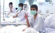 Những hình ảnh đầu tiên của đội bóng nhí Thái Lan tại bệnh viện