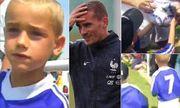 Video: Griezmann 7 tuổi chạy theo xin chữ ký dàn danh thủ World Cup 20 năm trước