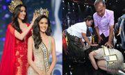Video: Hành động không ai ngờ đến của hoa hậu Hòa bình Thái Lan 2018 sau khi đăng quang