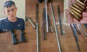 Thanh Hóa: Bắt giữ đối tượng mang vũ khí tự chế, dẫn 20