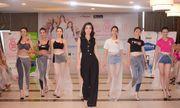Đỗ Mỹ Linh bất ngờ xuất hiện thị phạm catwalk cho thí sinh Hoa hậu Việt Nam 2018