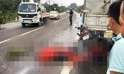 Húc đuôi xe tải, 2 người đi xe máy tử vong tại chỗ