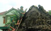 Hà Tĩnh: Hơn 300 cán bộ, chiến sỹ giúp người dân khắc phục hậu quả sau bão lũ