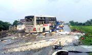 Vụ lật xe khách 9 người thương vong: Lời kể hãi hùng của nạn nhân