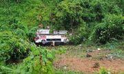 Hiện trường vụ xe khách lao xuống vực ở Cao Bằng khiến 4 người tử vong