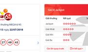 Kết quả xổ số Vietlott hôm nay 22/7/2018: Jackpot hơn 17 tỷ