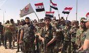 Khoảnh khắc kinh hoàng 3 tướng Syria tử trận vì trúng đạn pháo của phiến quân