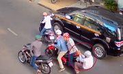 Cô gái 19 tuổi lao xe hạ gục đôi nam nữ cướp giật giữa Sài Gòn