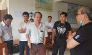 Vụ vỡ đập thủy điện ở Lào: Bầu Đức đi trực thăng đến thăm nạn nhân